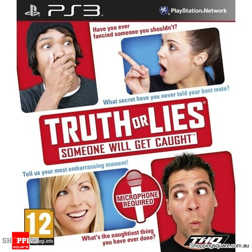 Truth or Lies : Mic Required - PS3 Playstation3 (pre-owned)