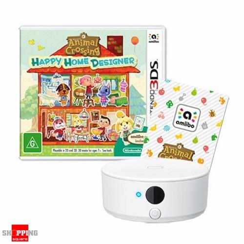 Animal Crossing Happy Home Designer NFC Reader, writer Bundle- 3DS -  Shoppingsquare Australia