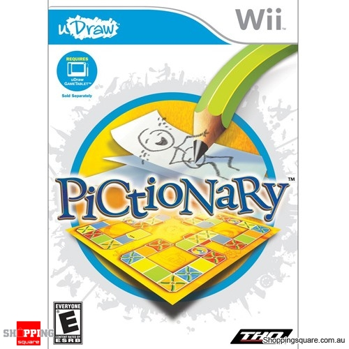 Pictionary - Nintendo Wii (pre-owned)