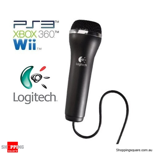 logitech vantage usb microphone for xbox 360 ps3 ps2 wii online shopping shopping square. Black Bedroom Furniture Sets. Home Design Ideas