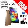 Samsung Galaxy S5 Duos 16GB G900FD LTE 4G Smart Phone Gold