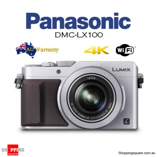 Panasonic Lumix LX100 DMC-LX100 Digital Camera Silver