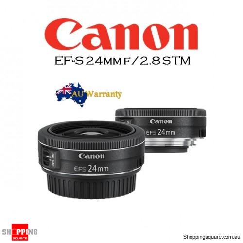 canon ef s 24mm f 2 8 stm camera lens online shopping shopping square com au online bargain. Black Bedroom Furniture Sets. Home Design Ideas