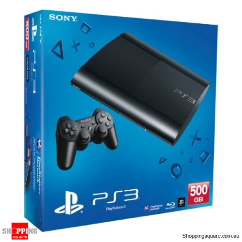 Sony Playstation 3 (PS3) 500GB Console