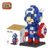 DIY Diamond Nano Block - Captain America