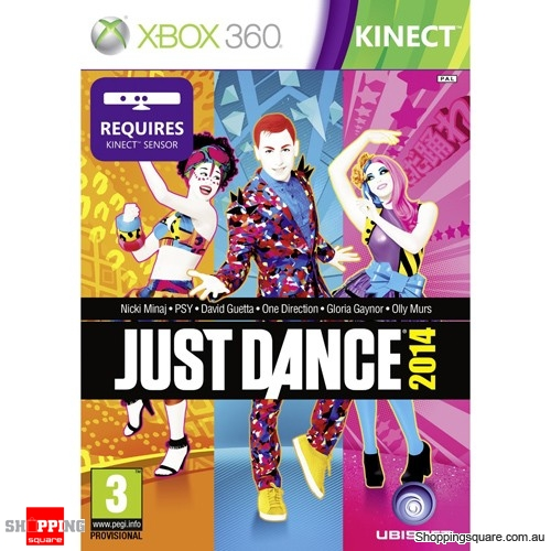 Just Dance 2014 Kinect - Xbox 360 Brand New
