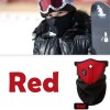 Universal Motorcycle Warm Face Neck Mask for Ski Snowboard Bike Travel Red Colour