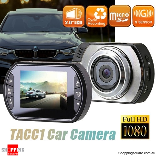 TACC1 FHD 1080P Car Crash Dash Camera DVR Recorder