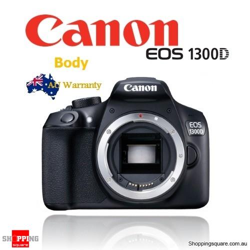 Canon EOS 1300D DSLR Digital SLR Camera Body ~ Rebel T6