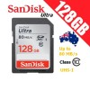 SanDisk Ultra 128GB SDHC SDXC UHS-I Memory Card Class 10 Up to 80 MB/s