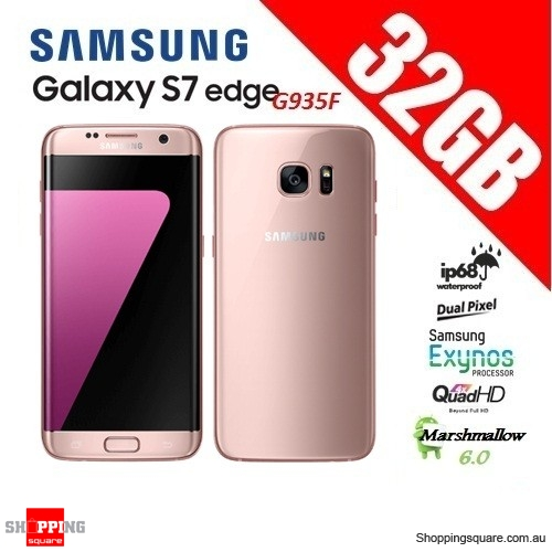 Samsung Galaxy S7 Edge G935F 32GB Smart Phone Pink - Faulty