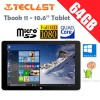 Teclast Tbook 11 10.6 Inch 64GB Intel Cherry Z8300 Quad Core 1.44GHz Dual Boot Tablet
