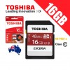 Toshiba Exceria 16GB SD Card 48MB/s Class 10 UHS-I Full HD SD Memory Card