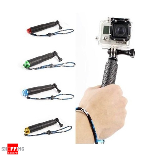 waterproof handheld tripod monopod selfie stick pole for gopro hero 5 4 3 3. Black Bedroom Furniture Sets. Home Design Ideas