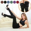 Ladies' Winter Fleece Lined Thick Warm Thermal Stretchy Slim Pants Leggings Black Colour