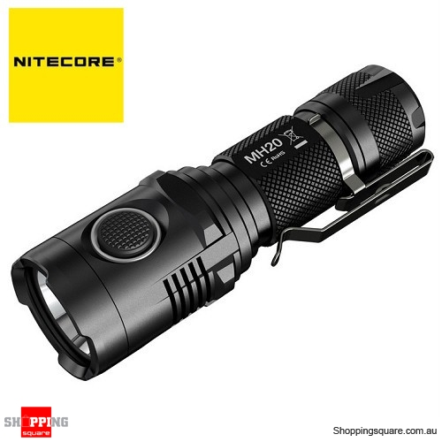 Nitecore MH20 USB Smallest 18650 CREE XM-L2 U2 1000LM LED Flashlight Torch $79.95
