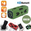 NFC Waterproof Bluetooth 4.0 Speaker PowerBank 3600mAh Green Colour