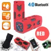 NFC Waterproof Bluetooth 4.0 Speaker PowerBank 3600mAh Red Colour