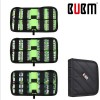 BUBM DCB Portable Universal Portable Battery Cable Electronics Accessories Storage Bag Organizer