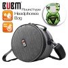 BUBM HB-L Waterproof Shockproof Professional DJ Carrying Case Storage Bag for Headset Earphones