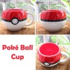 Pokemon Ceramic Poke Ball 3D Figural Coffee Water Cup Mug Go