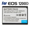 Rechargeable 2200mAh LP-E10 Battery for Canon Camera EOS 1100D 1200D Kiss X50 X70 Rebel T3 T5