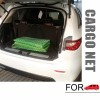 Elastic Car Trunk Rear Cargo Net Mesh Organizer Pouch for Storage with Hooks