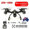 JXD 509G Aerial Drone RC Quadcopte 5.8G FPV Transmission With 2.0MP HD Camera + Bonus 1PC Spare Battery