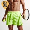 Men's Casual Boardies Shorts for Running Jogging Gym Sport Beach Surf Green Colour Size XL