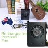 Genuine Gongtian W910 Multifunctional Rechargeable Portable Fan with 3-Level Speed Black Colour