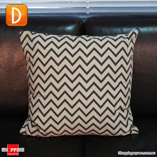 Brown Linen Throw Pillow : Vintage Black & Brown Linen Cotton Throw Cushion Pillow Cover Case - Pattern D - Online Shopping ...