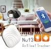 Nut 3 Bluetooth Anti-Lost GPS Smart Tracker Finder for Key Wallet White Colour