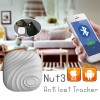 Nut 3 Bluetooth Anti-Lost GPS Smart Tracker Finder for Key Wallet Grey Colour