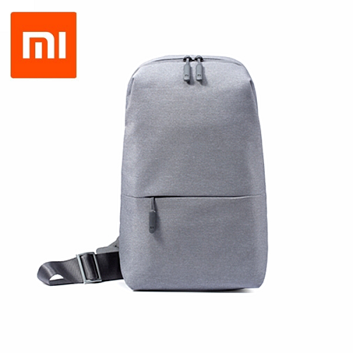 Xiaomi Multifunction Crossbody Bag Light Gray Colour
