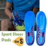 1 Pair of Orthotic Arch Support Gel Massaging Sport Shoe Pads Insoles Insert Size S