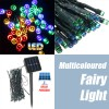 50 LED 5.2M Solar Powered String Fairy Light Lamp for Garden Path Chirstmas Outdoor Multicoloured
