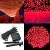 200 LED Solar Powered Fairy Light String for Garden Party Wedding Xmas Decor Red Colour