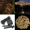 200 LED Solar Powered Fairy Light String for Garden Party Wedding Xmas Warm White Colour