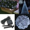 200 LED Solar Powered Fairy Light String for Garden Party Wedding Xmas Decor Cool White Colour