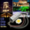 High Power 100W LED SMD Chip Bulb with Waterproof Driver Supply DC20-40V Warm White Colour