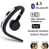 Wireless Bluetooth V4.1 Sports Stereo Headset for iPhone Samsung Silver Colour