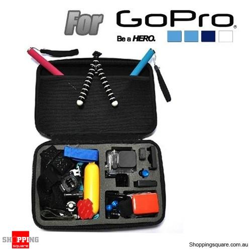 EVA Shockproof Case Bag Box Accessories for GoPro SJ4000 SJ5000 Sport Camera Size L