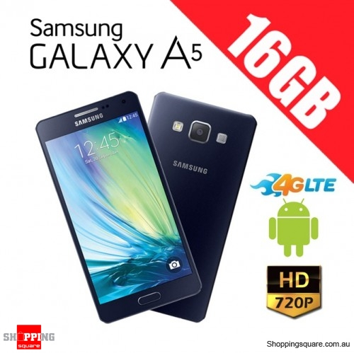 Samsung Galaxy A5 16GB 4G LTE Unlocked Smart Phone Black
