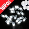 10pcs of LED Balloon Glow Lights Lamp for Paper Lantern Wedding Party White Colour