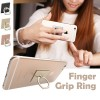 Universal Finger Ring Grip Holder Stand for Samsung S6 S7 edge iPhone 7 6s Plus Gold Colour