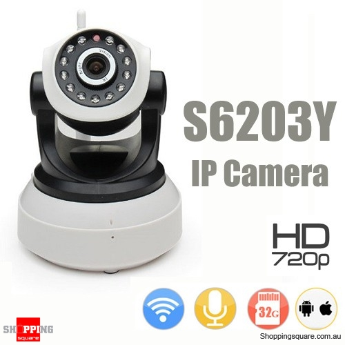 WiFi Wireless HD 720P IP Network Camera Home Security CCTV Night Vision System