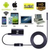 3.5M 6LED Waterproof WiFi Snake Tube Borescope Endoscope with Camera for Inspection iPhone Android