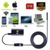 5M 6LED Waterproof WiFi  Snake Tube Borescope Endoscope with Camera for Inspection iPhone Android