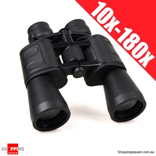 SAKURA 50mm Tube HD Night Vision Binoculars with 10x-180x100 Super Zoom & Waterproof