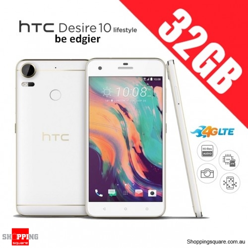 HTC Desire 10 Lifestyle 32GB D10u 4G LTE Unlocked Smart Phone Polar White